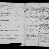 South Africa, Free State Dutch Reformed Church Records, 1848-1956