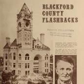 Blackford County Indiana Flashbacks