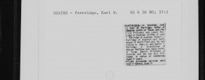 San Joaquin County California Obituaries, 1850-1991